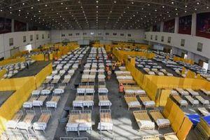 Trung Quốc lập thêm 8 bệnh viện dã chiến