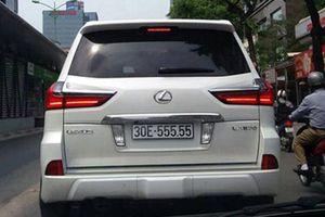Cận cảnh những chiếc Lexus LX570 có biển siêu đẹp tại Việt Nam