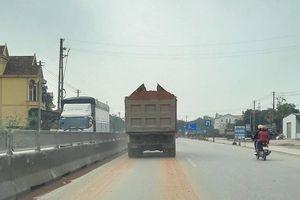 Thanh Hóa: Xe quá tải gây ô nhiễm môi trường khiến người dân bức xúc