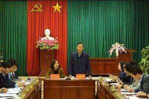 Phó Bí thư Thành ủy Đào Đức Toàn làm việc với Đảng ủy xã Xuân Phú (huyện Phúc Thọ)