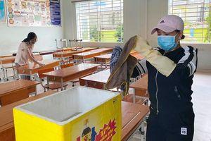 Vệ sinh, khử trùng trong trường học