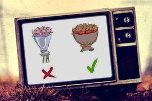 Những bó hoa ăn được... tặng nàng ngày Valentine
