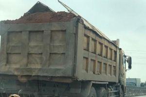 Xe tải quá tải lại tung hoành trên Quốc lộ