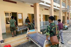 TP Hồ Chí Minh: Gấp rút thi công đưa bệnh viện dã chiến vào hoạt động