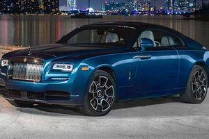 Xe siêu sang Rolls-Royce Wraith Black Badge hút mắt tại Miami