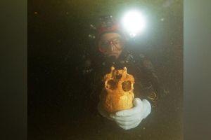 Giật mình bộ xương phụ nữ 10.000 tuổi có hộp sọ biến dạng