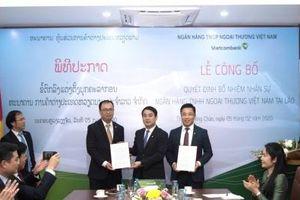 Loạt lãnh đạo mới được bổ nhiệm của Vietcombank Lào là ai?