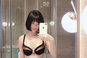 Hot girl Hải Phòng diện bikini nóng bỏng, khoe ở chung cùng sao tuyển Việt Nam