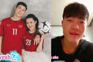 Xuân Trường gửi lời chúc mừng đám cưới Duy Mạnh và Quỳnh Anh từ xa: 'Chúc hai em có một ngày tưng bừng khói lửa'