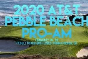 Màn so tài gay cấn vòng 1 AT&T Pebble Beach Pro-Am 2020