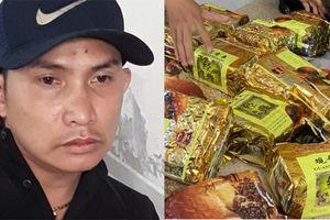 Phục bắt nam thanh niên mang 17kg ma túy trên đường TP HCM
