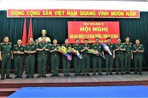 Công bố quyết định điều động nhân sự của Bộ Quốc phòng