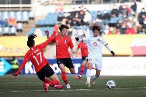 Tuyển nữ Việt Nam chơi kiên cường trước Hàn Quốc