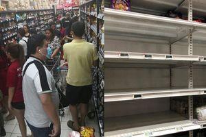 Người dân Singapore đổ xô 'càn quét' sạch siêu thị vì virus corona