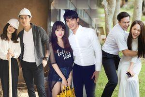 Hương Giang 3 lần 'sánh bước' cùng mỹ nam Thái Lan: Jack - Philip - Son Yuke đều siêu đẹp trai