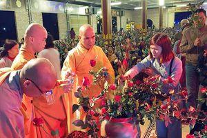 Nghệ An : Lễ tạ đàn Dược Sư tại chùa Diệc, chùa Đức Hậu