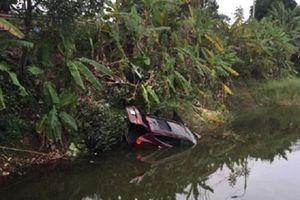 Ô tô rơi xuống ao ven Quốc lộ 18, hai vợ chồng ở Quảng Ninh thiệt mạng