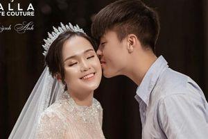 Váy cưới đẹp từng milimet của Quỳnh Anh do Phương Linh T.kế
