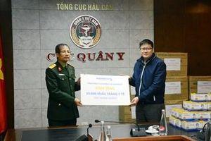 Tổng công ty Danameco trao 30.000 khẩu trang tặng ngành quân y phòng chống nCoV