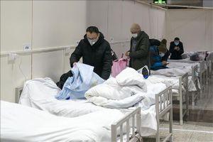 Vũ Hán tiếp nhận thêm 5.787 nhân viên y tế
