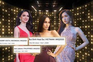 Video giới thiệu Miss Int' Queen của Hoài Sa 'trội view nhưng kém like', fan Việt nhiệt tình 'tích điểm'