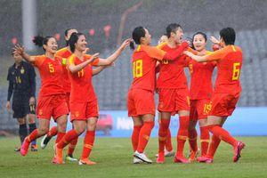 Tuyển nữ Trung Quốc giành vé chơi trận play-off vòng loại Olympic 2020