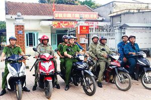 Lực lượng bảo vệ dân phố thị trấn Tô Hạp: Nòng cốt trong đảm bảo an ninh trật tự