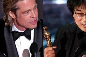 Oscar 2020: Brad Pitt lần đầu cầm tượng vàng, 'Ký sinh trùng' làm rạng danh điện ảnh châu Á
