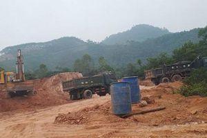 Sai phạm trong khai thác khoáng sản, Thanh tra Chính phủ kiến nghị Phú Thọ xử lý cán bộ liên quan