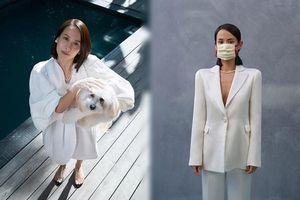 Người đẹp phim 'Ký sinh trùng' đeo khẩu trang chụp ảnh tạp chí