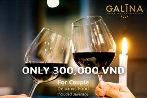 Romantic Valentin's Day tại khách sạn GALINA