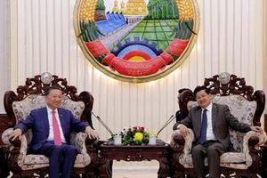 Bộ công an Việt Nam và Bộ An ninh Lào thống nhất phương hướng hợp tác trong thời gian tới