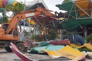 Cưỡng chế Công viên Thanh Hà: Chưa rõ tháo dỡ hay phá dỡ
