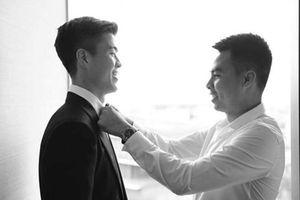 Sau đám cưới, Duy Mạnh gửi lời cảm ơn 'ông anh nhiệt tình' Đức Huy