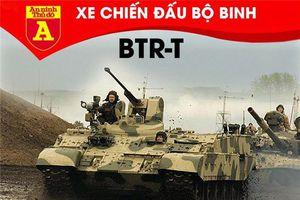 Biến 'cua thép' T-54/55 gia nua thành xe chiến đấu bộ binh cực mạnh