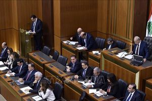 Liban: Chính phủ mới dành chiến thắng trong cuộc bỏ phiếu tín nhiệm