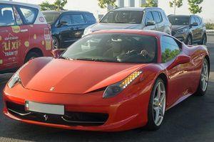 Siêu xe Ferrari 458 Italia tiền tỷ trên phố Sài Gòn