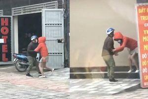 Clip kéo bạn gái vào khách sạn ở Hà Nội 'tỏ tình' dịp Valentine
