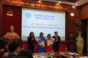 TTXVN giành 2 giải ở Cuộc thi viết về bảo hiểm xã hội, bảo hiểm y tế
