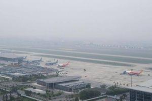 Sương mù dày đặc tại Nội Bài, 5 chuyến bay không thể hạ cánh
