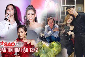 Bản tin Hoa hậu 13/2: Hương Giang hội ngộ Khánh Vân, Hoài Sa tung hình ảnh mới cho Miss Int' Queen 2020