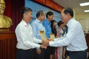 Công đoàn Khối doanh nghiệp thương mại Trung ương tại TP. Hồ Chí Minh tuyên dương 'Gương sáng đảng viên'