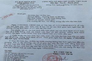 Học sinh Đồng Nai nghỉ thêm 1 tuần nữa để phòng dịch Corona