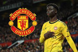 MU 'đánh cắp' viên ngọc Bukayo Saka của Arsenal