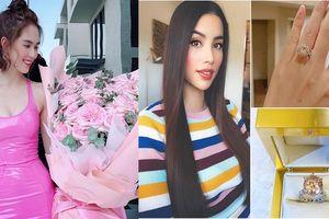 Quà Valentine của sao Việt là xế hộp, kim cương khiến fan 'bấn loạn'