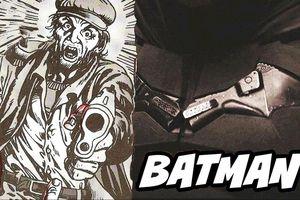Biểu tượng Batman trên bộ giáp chính là khẩu súng đã giết cha mẹ anh?
