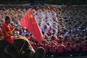 Học sinh Thái Lan gửi quà Valentine đặc biệt tới Trung Quốc