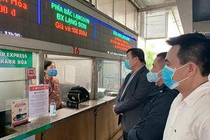 Quận Hoàng Mai: Phòng dịch Covid-19 chặt chẽ tại các bến xe
