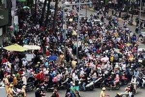 Trên 1.000 'mắt thần' chống bạo động, tụ tập gây rối ở trung tâm TPHCM