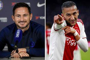 Lampard vui sướng, tin Hakim Ziyech là 'chìa khóa cửa' của Chelsea